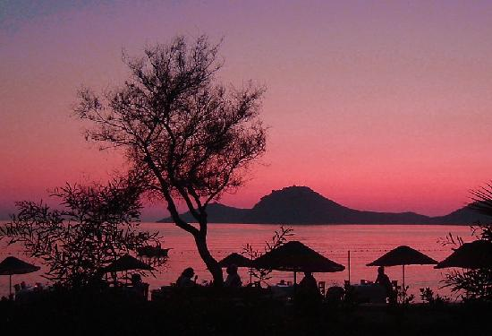 Yalikavak, Turkiet: sunset