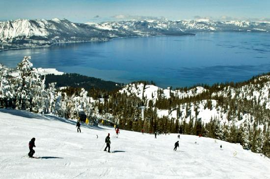 South Lake Tahoe, Californië: Heavenly Mountain Resort