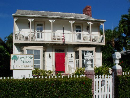 Sabal Palm House Bed and Breakfast Inn: Beautiful Sabal Palm