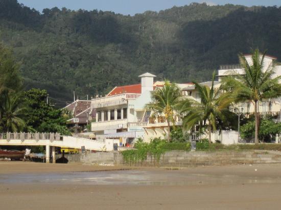 Wabi-Sabi Layalina X'Clusive Beachfront Boutique Resort Phuket: View from the Beach