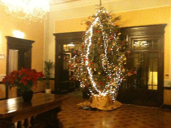 Hotel Brufani Palace: addobbi natalizi