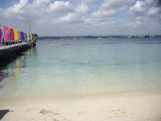 Davao City, Philippines: ダバオ対岸のリゾート