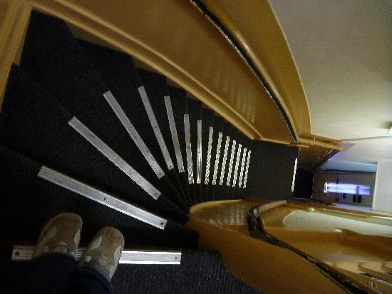 Hotel My Home: The infamous Holland's narrow stairs