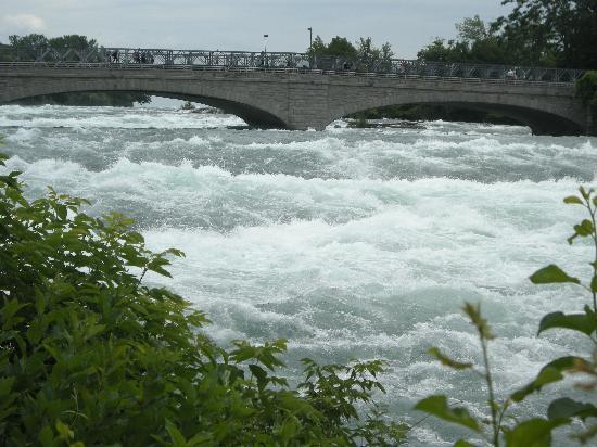 Cataratas del Niágara, Canadá: The rapids