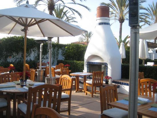Omni La Costa Resort and Spa: spa cafe, very  nice healthy food