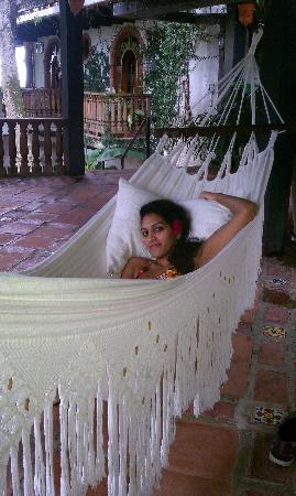 Hacienda Siesta Alegre : the beautiful hammock