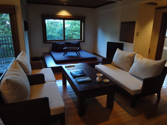 Sankara Hotel & Spa Yakushima: 一番スタンダードなヴィラでこの広さ。