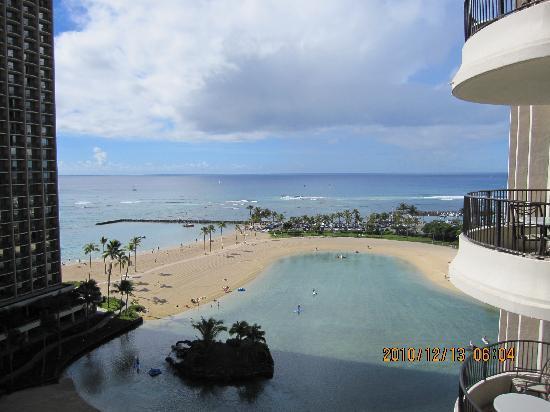 Honolulu, Hawaï: ヒルトンビレッジのラグーン