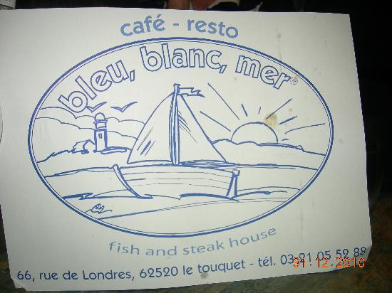 Bleu Blanc Mer: ADRESSE