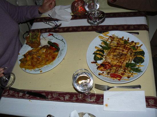 Antique Turquoise Cafe Restaurant Bar : spécialités ottomanes