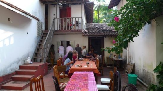 Kannur Beach House: Dining Area