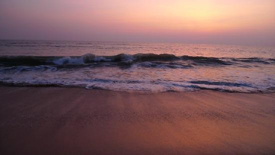Kannur Beach House: @Sunset