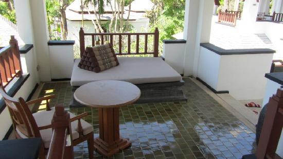 Nakamanda Resort & Spa: The private room terrace
