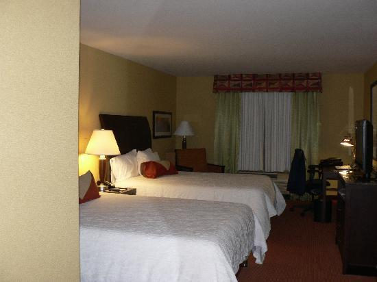 Hilton Garden Inn Ontario / Rancho Cucamonga : CHAMBRE
