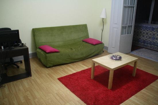 Baluarte Citadino Hostel: Salón