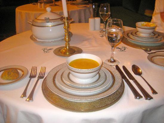 L Mansion Marrakech: Dinner at L Mansion
