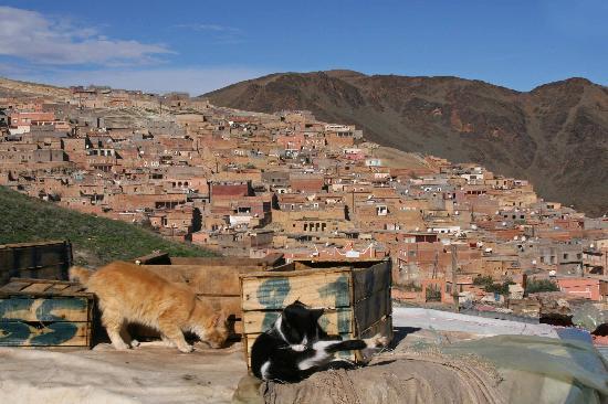 Moulay Brahim, Morocco: Blick auf die Neustadt