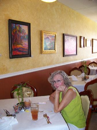 Back Eddy Bistro: Just chillin' for lunch