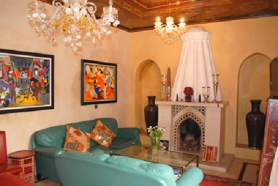 Riad Misria & SPA : sitting room
