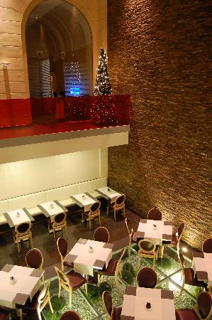 Hotel Palazzo Zichy: La sala colazione