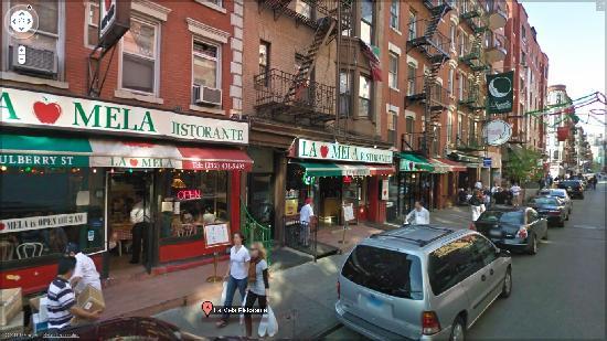 la mela ristorante new york city little italy menu. Black Bedroom Furniture Sets. Home Design Ideas
