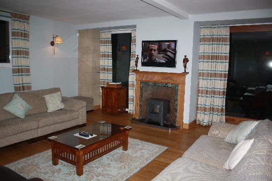 North Berwick Golf Lodge: Living room