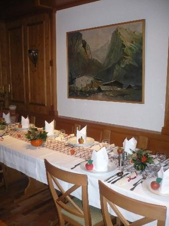 Hotel Haussler: schöner tisch