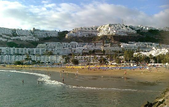 Hotel Nido del Aguila: Dejlig strand, men Amadores var bedre - man kan gå til Amadores fra Puerto Rico