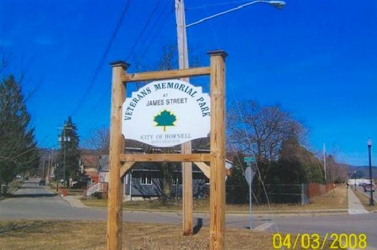 Hammondsport, NY: Veteran's Park