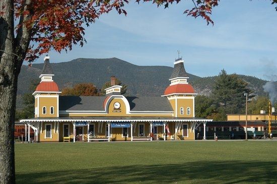 Conway Scenic Railroad: Our 1874 Station in North Conway Village