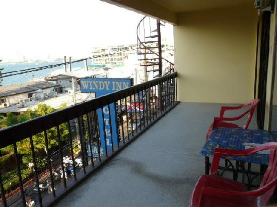 Windy Inn : balcony