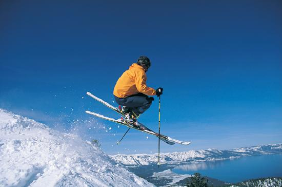 South Lake Tahoe, Californië: Skiing Heavenly Mountain Resort