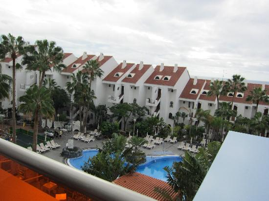 Paradise Park Fun Lifestyle Hotel: view from floor 4