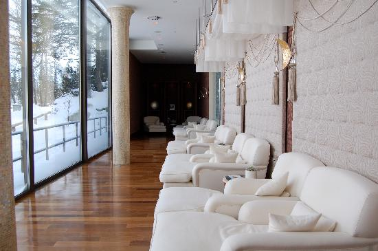 Grand Hotel Kempinski High Tatras: relaxation room