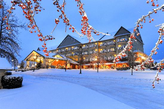 Sugarcreek, Οχάιο: Winter wonderland at the Carlisle Inn