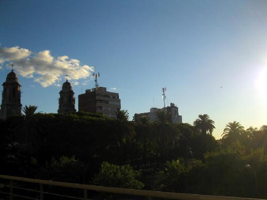 Mercedes, Uruguay: A vista a partir da janela do apartamento 206