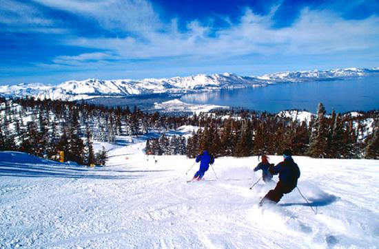 South Lake Tahoe, Californien: Heavenly Mountain Resort