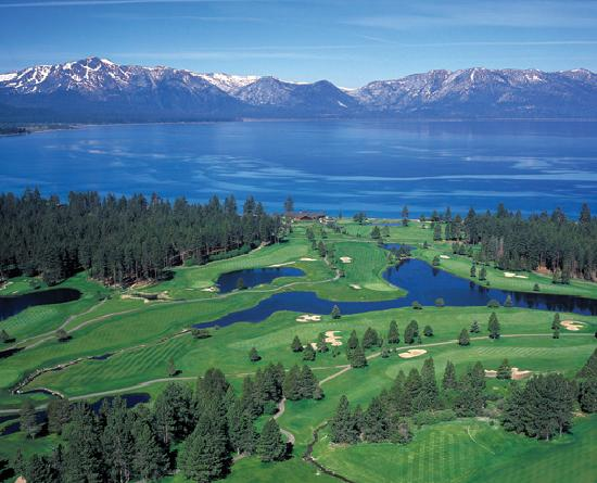 South Lake Tahoe, Californien: Edgewood Tahoe Golf Course