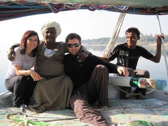 AMR tours : Sailing the Nile on felucca