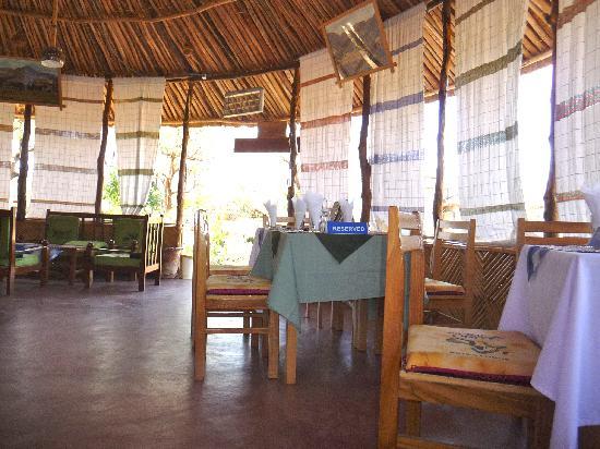 Turmi, Etiopia: dining room