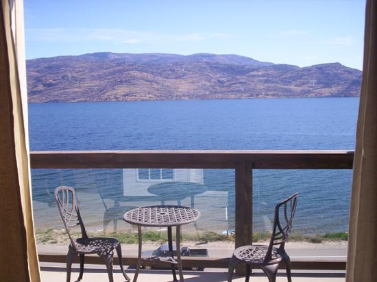 Peachland, Canada: from the room terrace
