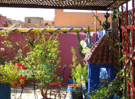 Dar Toubib: la terrasse
