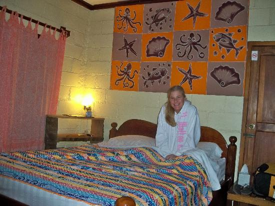 The Orange Guesthouse: Single Room with No frills but has everything you need.
