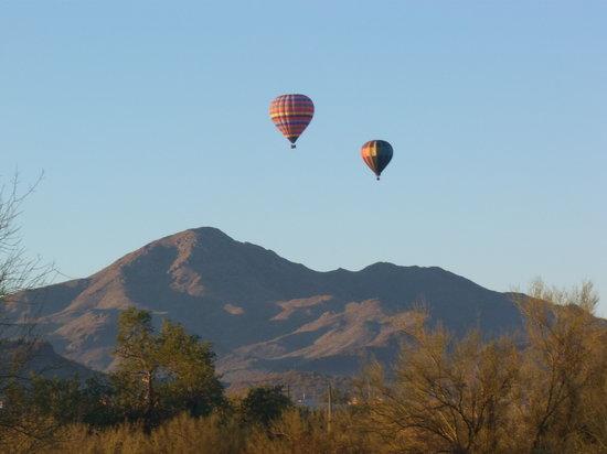 Fleur de Tucson Hot Air Balloon Rides: It's a blast!
