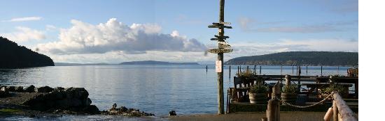West Beach Resort: pano view of the dock