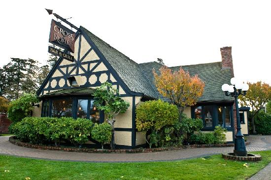 Colwood Cross Roads Bar & Grill: Historic landmark location.