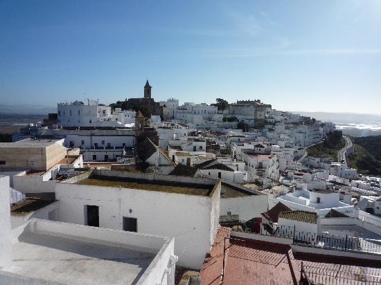 Annie B's Spanish Kitchen : View from Annie's rooftop terrace