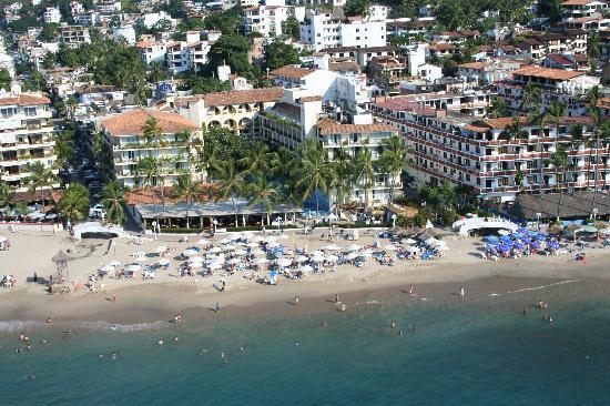 Playa Los Arcos Hotel Beach Resort Spa I Shot This View Of Hotels