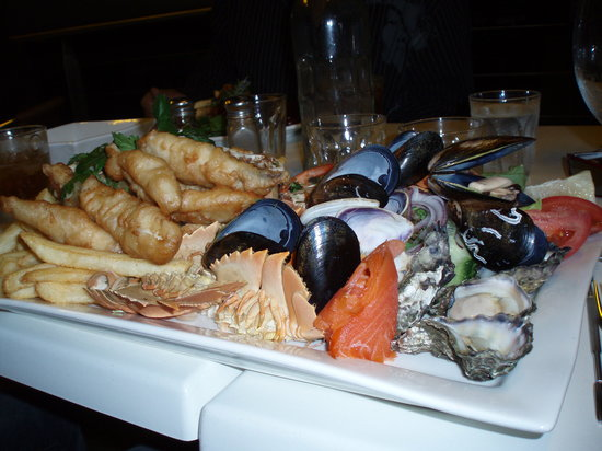 Lakes Entrance, Australien: Our Seafood Platter