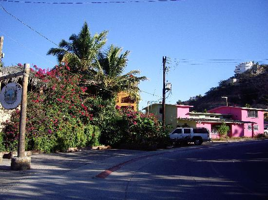 The Bungalows Hotel : front of the Bubgalows